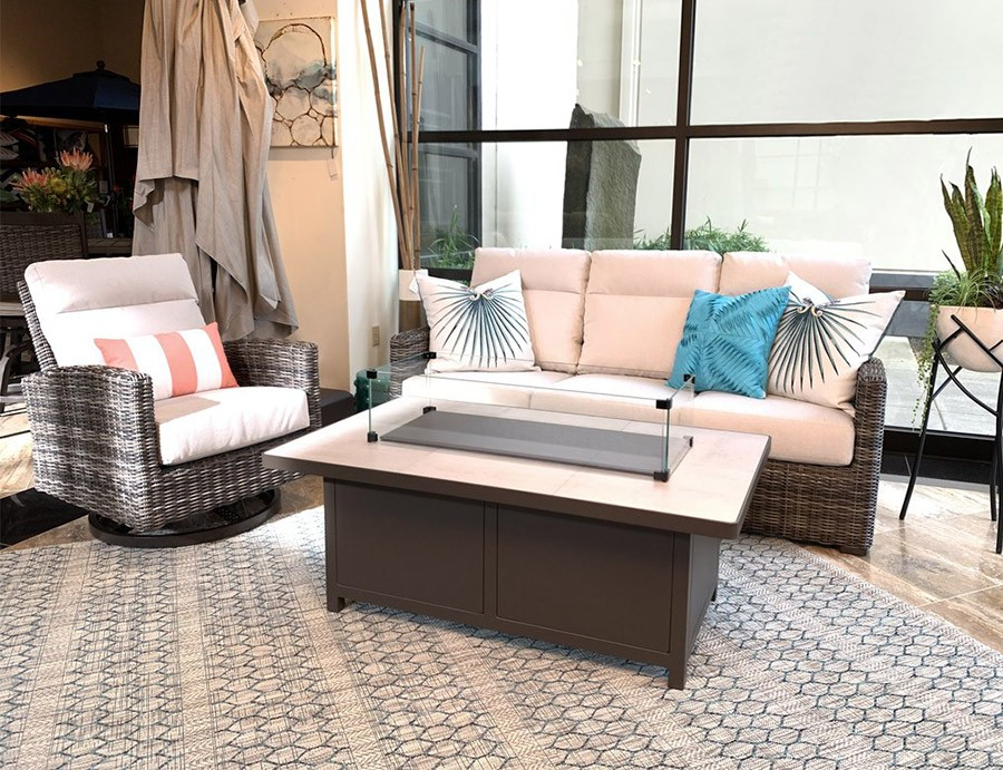 Make the outdoors feel like a refuge with the perfect outdoor area rug
