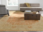 Regal | King Zion | 24131: Rust/Beige area rug