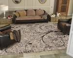 The ability to create designs and custom color area rugs in a 3D environment