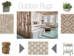 Exquisite Exterior Rooms with outdoor rugs and accessories at Mafi International